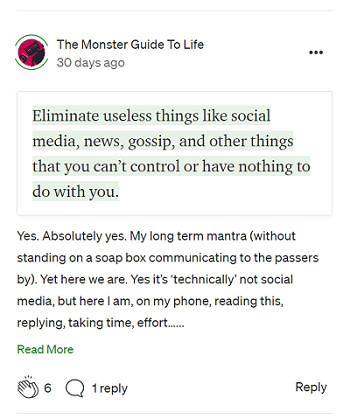 Comment on Medium articles