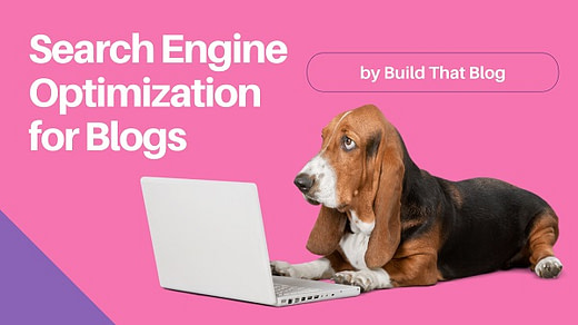 Search engine optimization for blog posts