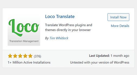 locotranslate plugin
