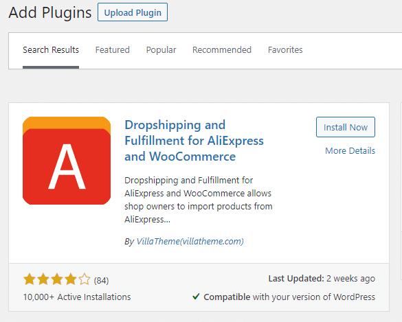 plugin for dropship